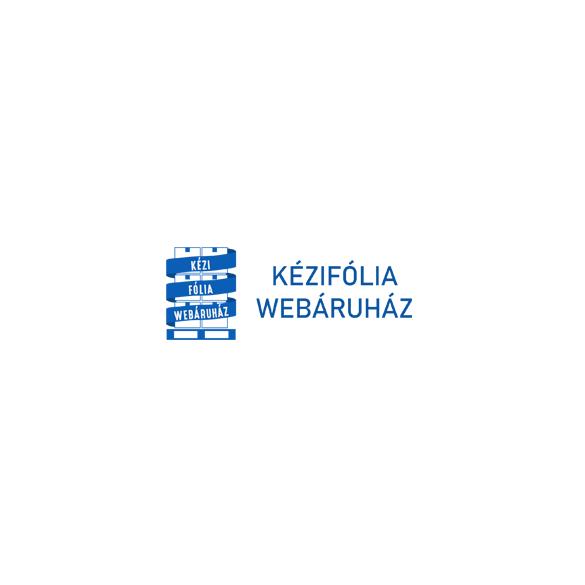 Füles papírtasak, sodrott füles, fehér, 26x12x34 cm