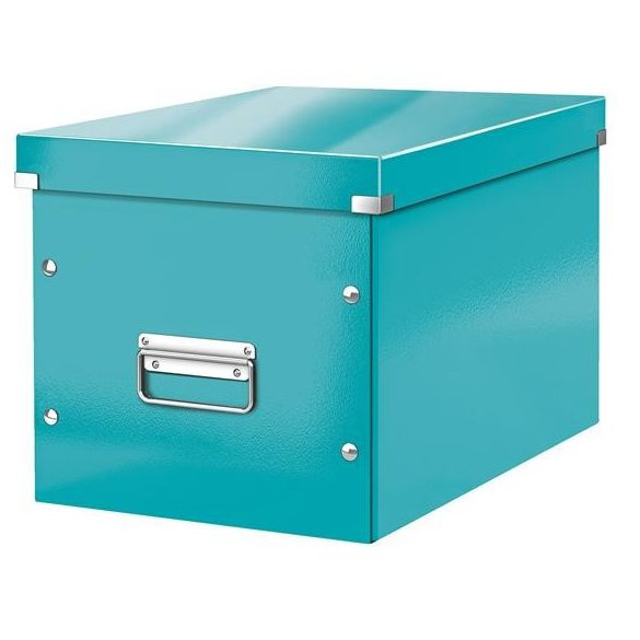 """LEITZ Tároló doboz, L méret, LEITZ """"Click&Store"""", jégkék"""